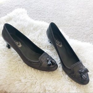 New TOD'S Leather Pumps Heels